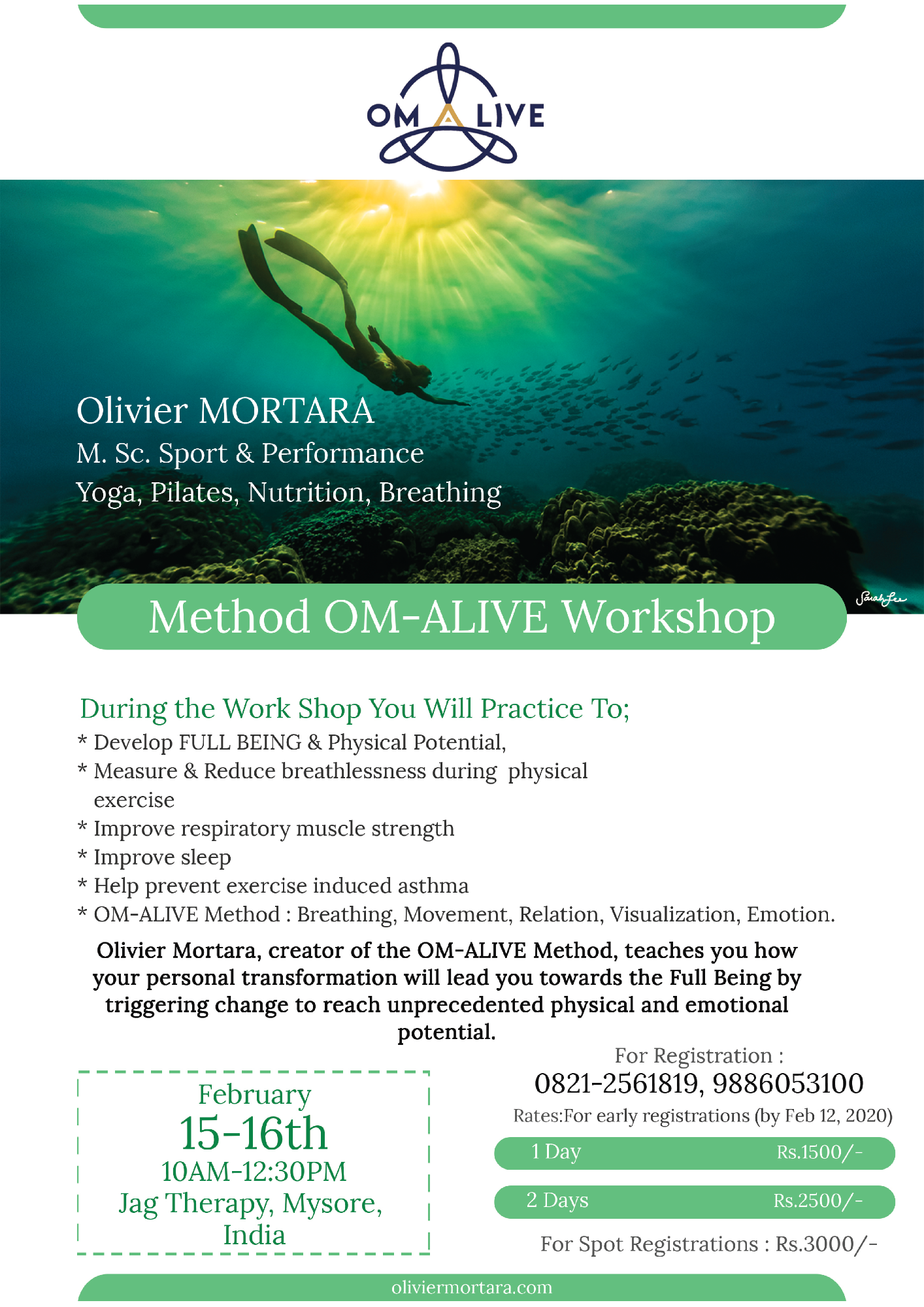 Méthode OM-ALIVE En Inde – OM-ALIVE Method in India
