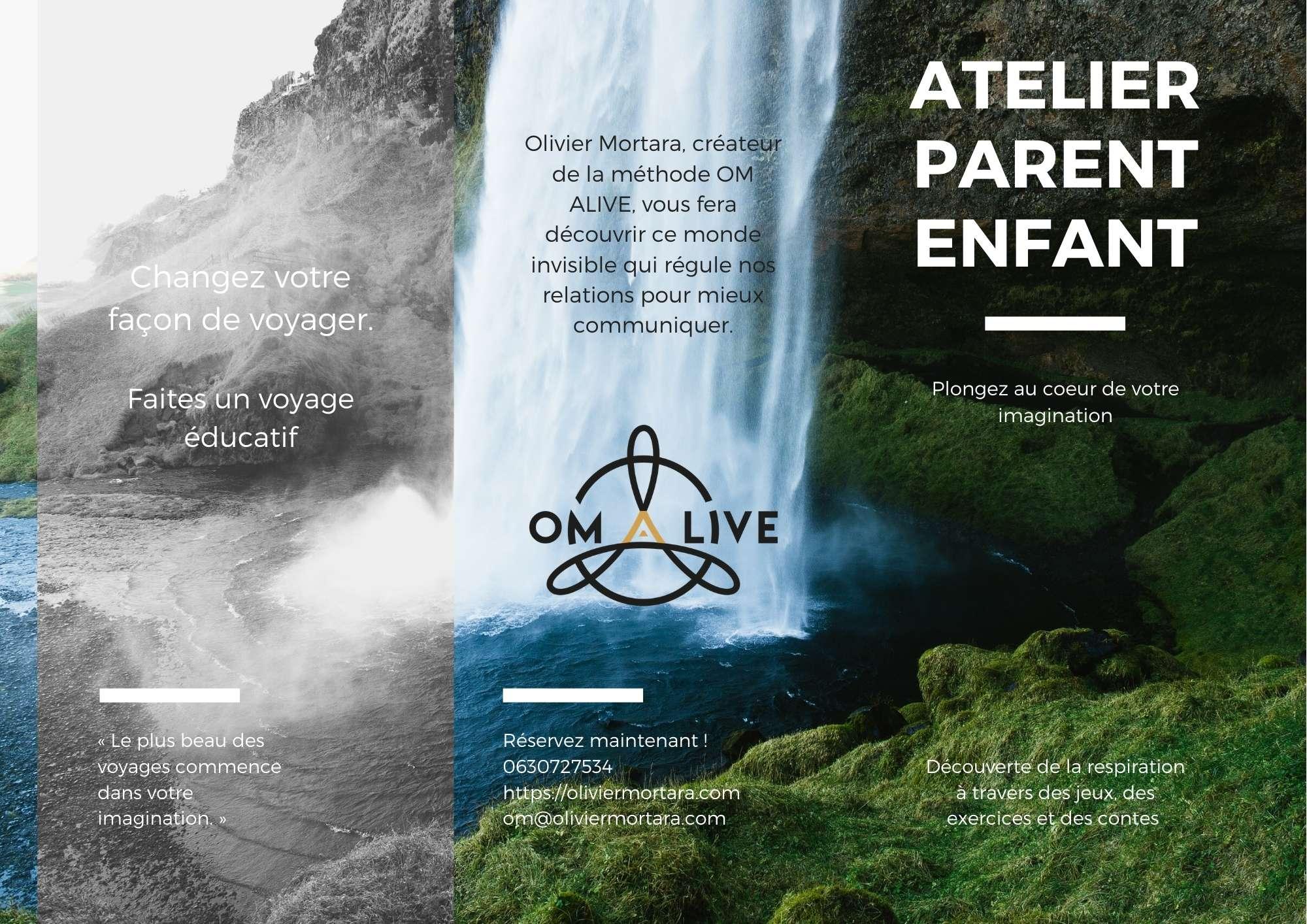 Atelier Parent Enfant – Plongez au coeur de votre imagination / Parent-Child Workshop – Dive into your imagination