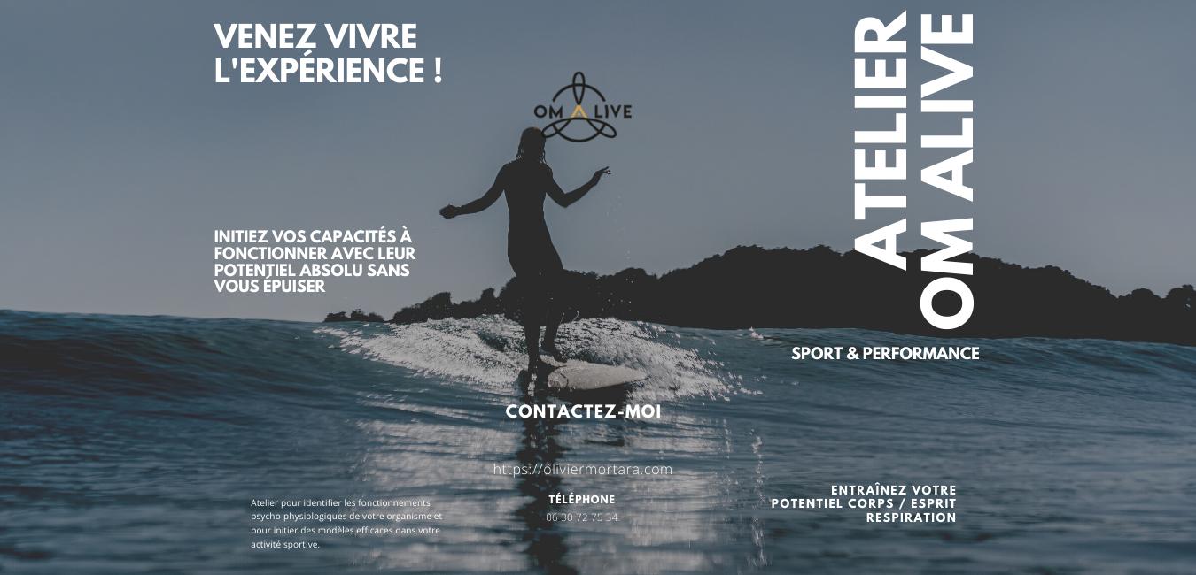 Atelier OM_ALIVE Sport & Performance – Workshop
